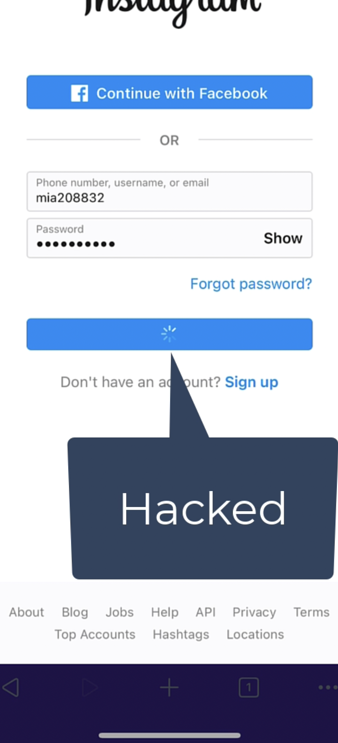How an entire 9th grade was hacked  on instagram - Step 4