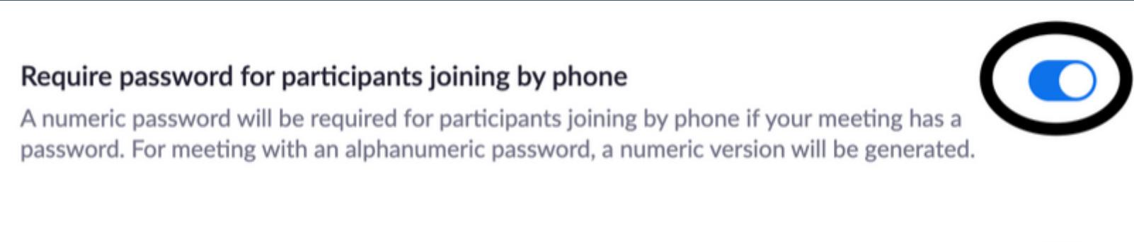 Reqire Password